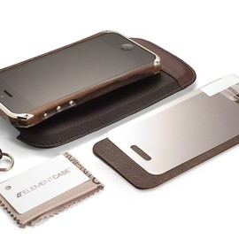 Element Case - Ronin FirstEdition iPhone5 Case Nickel/ZiricoteWood