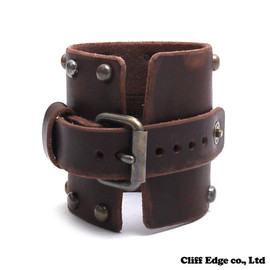 NEIGHBORHOOD - SLAVE.STUDS/CL-WRISTBAND(リストバンド)BROWN268-000054-016-【新品】【smtb-TD】【yokohama】