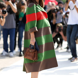 street - Street Style at Paris Fashion Week Spring/Summer 2015