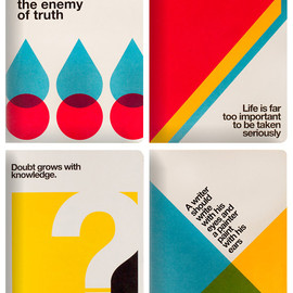OGAMI - 'TACCUINO QUOTES' Notebooks 2012