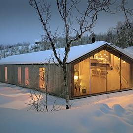 Reiulf Ramstad Architects - V-lodge,  Norway