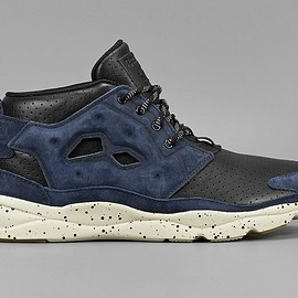 REEBOK, Mighty Healthy - Furylite Chukka AFF - Black/Collegiate/Navy