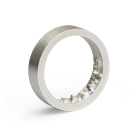 Yoon Jung Yun - Inner Message ring  - Silver
