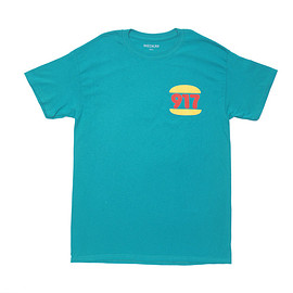 Call Me 917 - BURGER TIME T-SHIRT GREEN