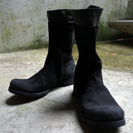 m.a+ - Back Zipped Tall Extra Boots