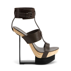 UNITED NUDE - 90 Degrees Coal Vegetan Leather