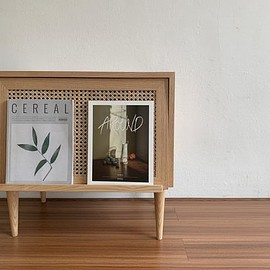 VAMIR - VAMIR 棚・ラック・収納 vamir magazine rack side table(58x38x57cm)