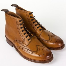 GRENSON - Boots Sharp Tan Leather