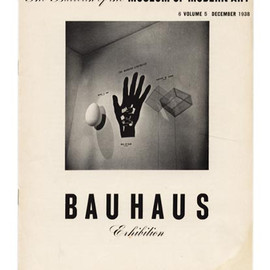 Museum of Modern Art New York - BAUHAUS EXHIBITION The Bulletin  Volume 5, Number 6: December 1938
