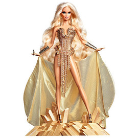 Barbie - Barbie Collector Gold Label The Blonds Blond Gold Barbie Doll  - Mattel -  Collectible Dolls -