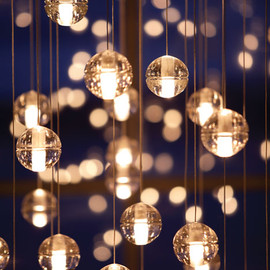 Omer Arbel - Glass Chandeliers