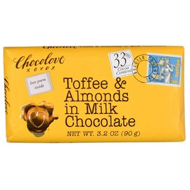 Chocolove - Toffee&Almonds in milk chocolate