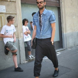 street - Milan Men's Fashion Week Spring 2014
