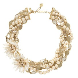 kate spade NEW YORK - moonlight pearls statement necklace