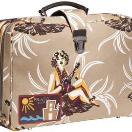 PRADA - SS2014 Hawaiian Print Luggage