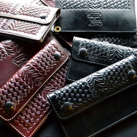 Alfonso's Of Hollywood Leather Co.×US - Trucker Wallet