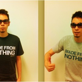 Leo Imai - MADE FROM NOTHING Tシャツ