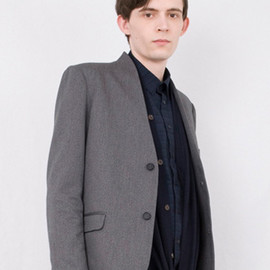 FFIXXED - Lapel-less jacket