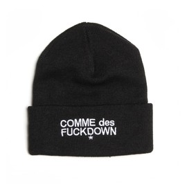 A$AP Rocky in SSUR - Comme Des F*ckdown Beanie
