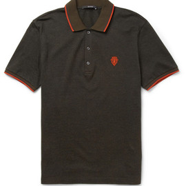 Gucci - Knitted Cotton and Cashmere-Blend Polo Shirt