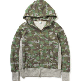 Champion - Camouflage Hooded Parka