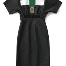 TOGA - Polyester Taffeta Dress (black)