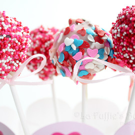 Luulla - Sweet Hearts Valentine Cake Pop Bouquet