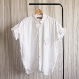 TROVE - blue SKY WIDE SHIRT #white