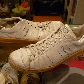 """adidas - 「<used>'75 adidas HAILLET SMITH white/green""""made in FRANCE"""" size:GB10/h(28.5-29cm) 13800yen」完売"""