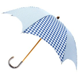liflattie ships - TRADITIONAL WEATHERWEAR:CRAZY GINGHAM UMBRELLA