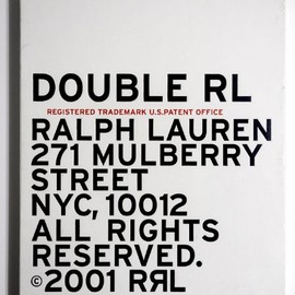 RRL - DOUBLE RL BOOK