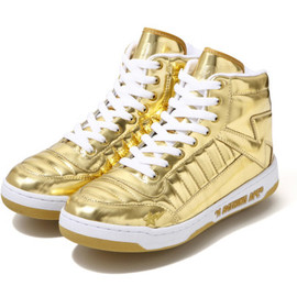A BATHING APE - BAPESTA 88 Gold