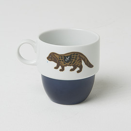 HUMAN MADE, PACIFIC FURNITURE SERVICE - PFS×HUMAN MADE MUG