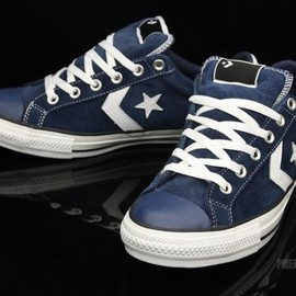 Converse Skateboarding - Star Play Skate Ox - Navy / White