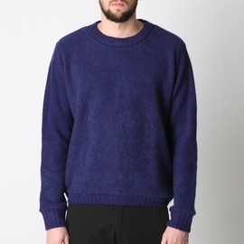 The Elder Statesman - RIS10CUSTO SWEATER BLUE