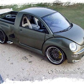 BURAGO - VOLKSWAGEN NEW BEETLE PICK-UP  1/18