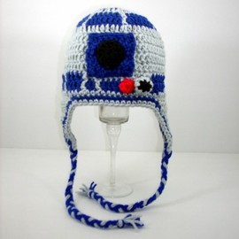 Star Wars - R2-D2 Earflap Hat