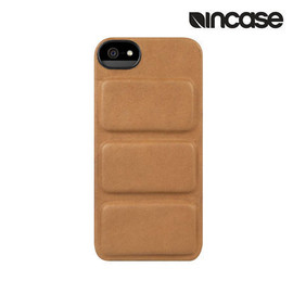 incase - Leather Mod Case for iPhone 5/5s Brown premium leather