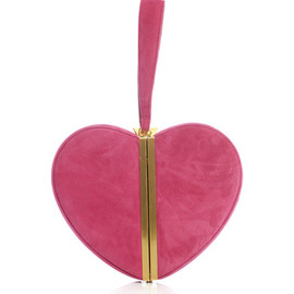 DVF, heart clutch