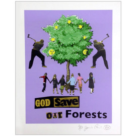 Jamie Reid - God Save Our Forests