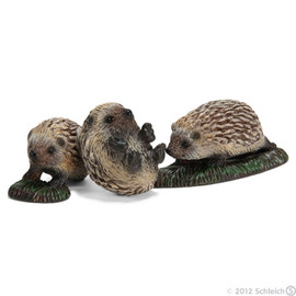 Schleich - Hedgehog pups