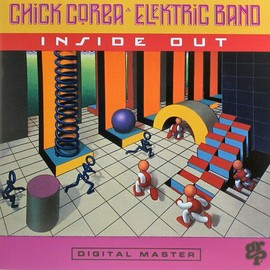 CHICK COREA  ELEKTRIC BAND - INSIDE OUT  CD