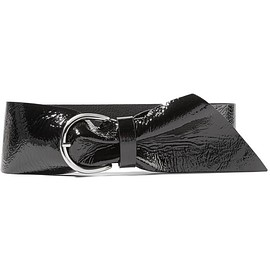 Isabel Marant - Yanis textured patent-leather belt
