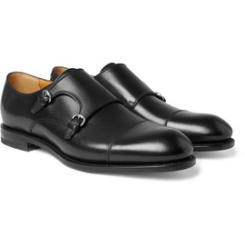 GUCCI - Double Monk-Strap Leather Shoes