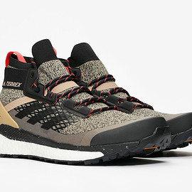 adidas - Terrex Free Hiker - Core Black/Core Black/Shock Red