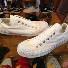"converse - 「<deadstock>1978 converse U.S.ARMY GYM SHOES white""made in USA"" size:US9(27.5cm) 17800yen」完売"
