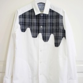 desertic - Liquid Tartan Shirt Jacket Gray