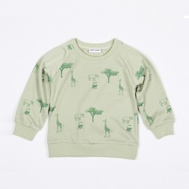 mini rodini - SAFARI SWEATER GREEN