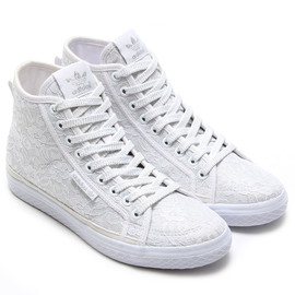 adidas originals, atmos - adidas Originals for atmos HONEY MID LACE W RUNNING WHITE/RUNNING WHITE/RUNNING WHITE