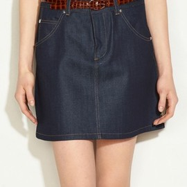 A.P.C. - Denim Short Skirt
